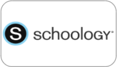 schoology learning management system button